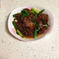 家常菜炒牛肉