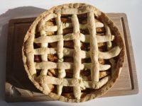 自己做的苹果蛋糕