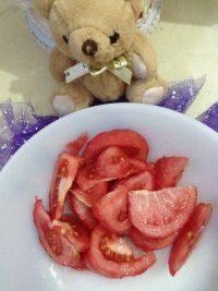 营养丰富的糖拌西红柿