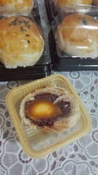 自制蛋黄酥