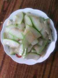 家常菜素炒冬瓜