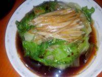 家常菜白灼西生菜