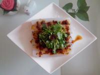 美味的豌豆凉粉