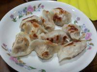 #爱美食#油煎饺子