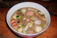 味道不错的丸子汤
