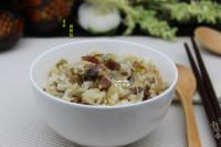 美味的香菇腊肠焖饭