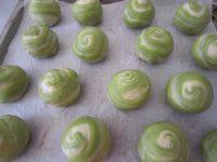 自制抹茶红豆酥