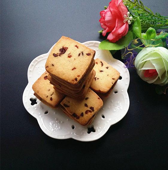 香喷喷的蔓越莓饼干