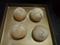 自己做的快手面包