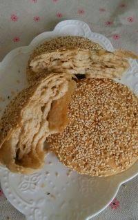 自制麻酱烧饼