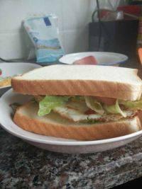 意犹未尽的鸡蛋三明治