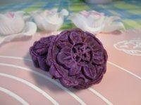 色味俱佳的紫薯月饼