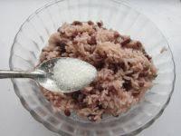 自己做的红豆饭