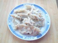 香气逼人的韭菜猪肉水饺