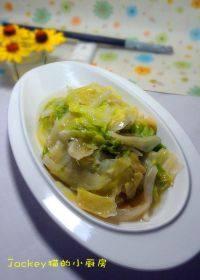 家庭版蒜蓉西生菜