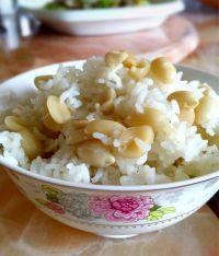 美味的花生米饭