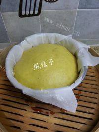 美味的玉米面发糕