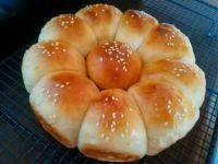 自制花朵面包