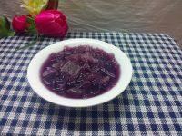 滋补紫薯银耳汤