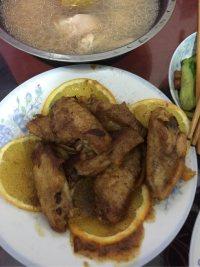 美味的香橙鸡翅