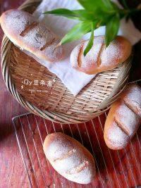 自己做的全麦面包