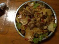 家常菜三色回锅肉