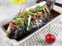 【美味可口】清蒸鲤鱼