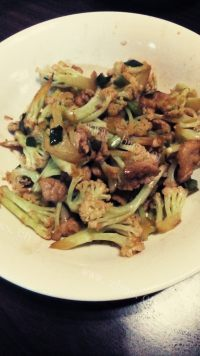美味的大盆花菜
