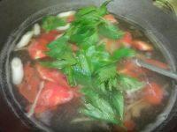 营养丰富番茄猪肝汤