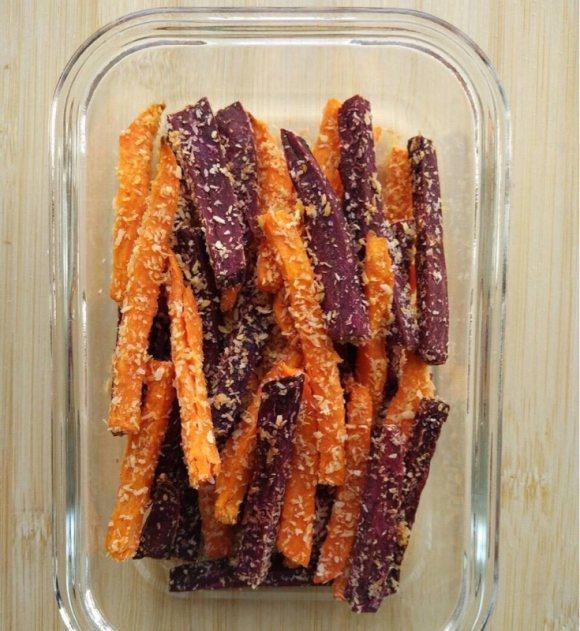 椰蓉紫薯干
