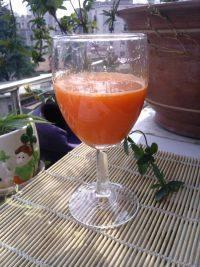 自己做的胡萝卜汁