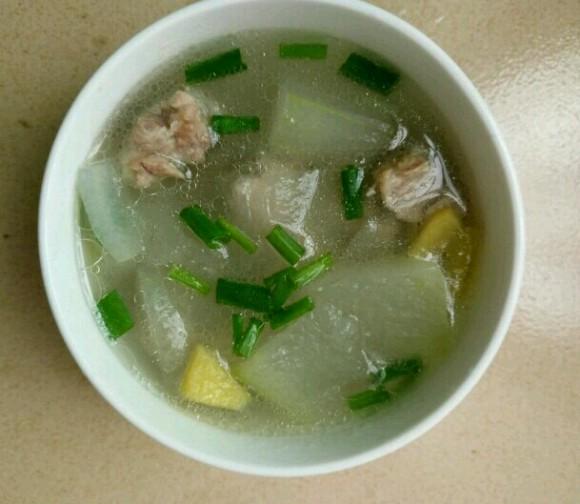 DIY冬瓜排骨汤