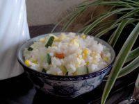自己做的玉米蛋炒饭