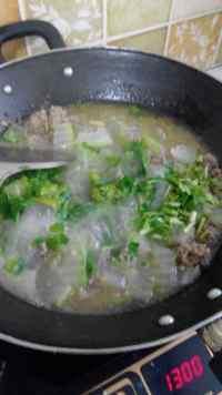 美味的冬瓜丸子汤