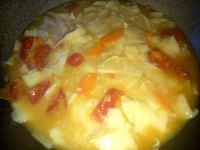 美味的西红柿鸡蛋面