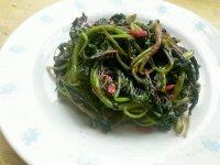 简单的蒜蓉苋菜