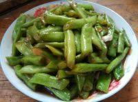 家常菜清炒豆角