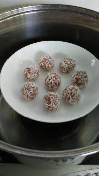 美味的珍珠丸子