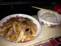家常菜炒洋葱