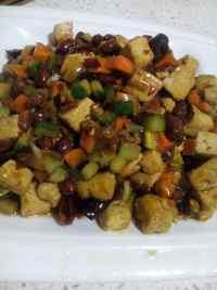 家常菜宫保豆腐