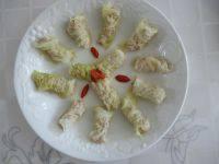 家常菜白菜肉卷