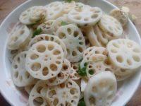自制炒藕片