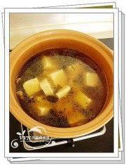 家常菜雪菜炖豆腐