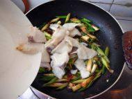 家常菜回锅鱼片