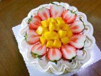 色味俱全的草莓奶油蛋糕