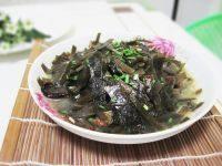 家常菜清炒海带丝