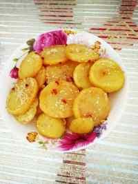 家常菜煎土豆片