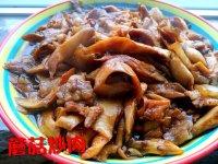 色香味浓的蘑菇炒肉