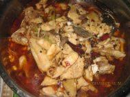 美味的麻辣鱼锅