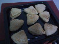 自制椒盐烧饼